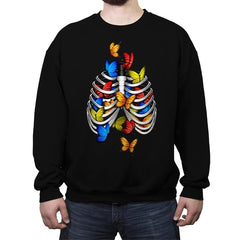 Butterflies In My Stomach - Crew Neck Sweatshirt - Crew Neck Sweatshirt - RIPT Apparel