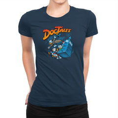 DocTales Exclusive - Womens Premium - T-Shirts - RIPT Apparel