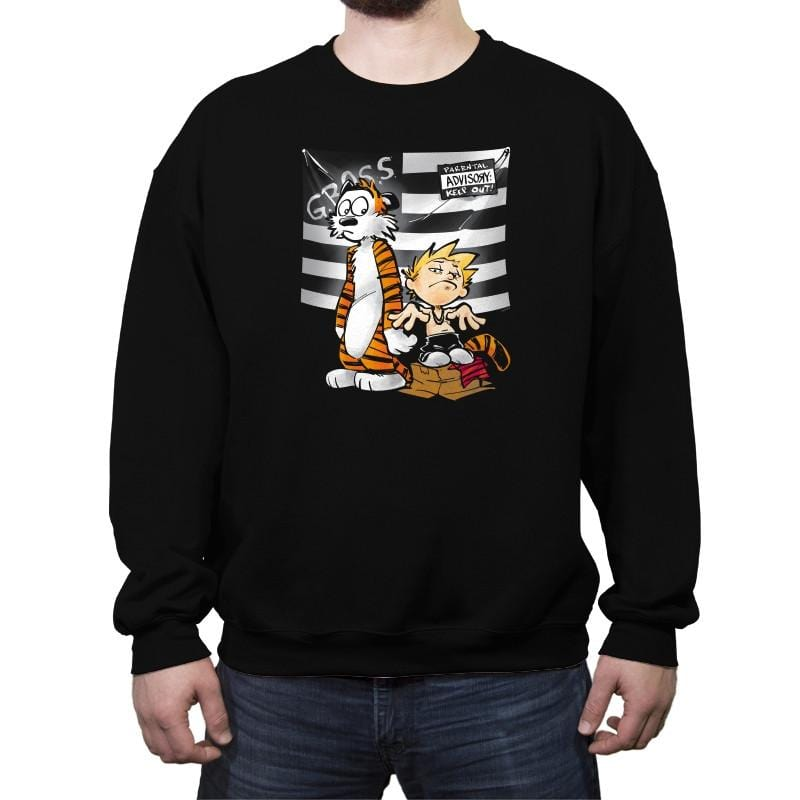 Calvonia - Crew Neck Sweatshirt - Crew Neck Sweatshirt - RIPT Apparel