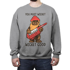 Wicket Good - Crew Neck Sweatshirt - Crew Neck Sweatshirt - RIPT Apparel