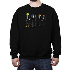 Reservoir Muppets - Crew Neck Sweatshirt - Crew Neck Sweatshirt - RIPT Apparel