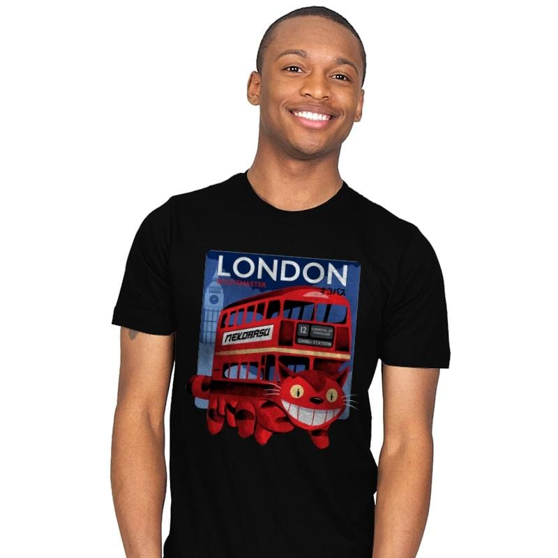London Nekobasu - Mens - T-Shirts - RIPT Apparel