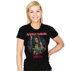 The Katana Maiden - Record Collector - Womens - T-Shirts - RIPT Apparel