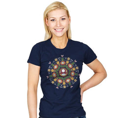 One Up Mandala - Womens - T-Shirts - RIPT Apparel