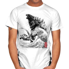 The Rise of Gojira - Mens - T-Shirts - RIPT Apparel