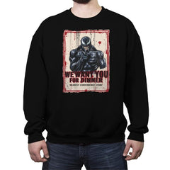 We Want YOU - Crew Neck Sweatshirt - Crew Neck Sweatshirt - RIPT Apparel