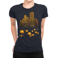 Lantern City - Womens Premium - T-Shirts - RIPT Apparel