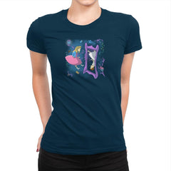 Eleven in Upside Downland Exclusive - Womens Premium - T-Shirts - RIPT Apparel