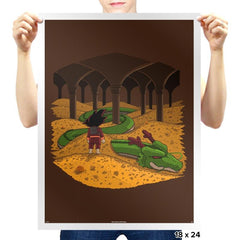 The Desolation of Shenron - Prints - Posters - RIPT Apparel