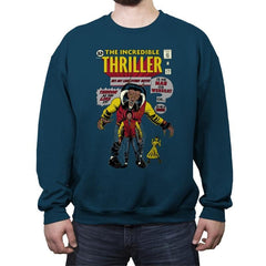 The Incredible Thriller - Crew Neck Sweatshirt - Crew Neck Sweatshirt - RIPT Apparel