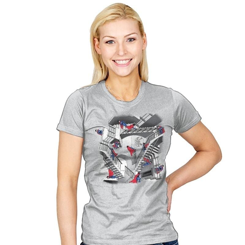 Strange Stairs - Womens - T-Shirts - RIPT Apparel