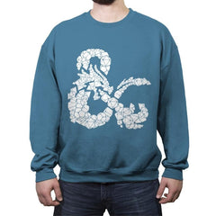 Dice & Dragons - Anytime - Crew Neck Sweatshirt - Crew Neck Sweatshirt - RIPT Apparel