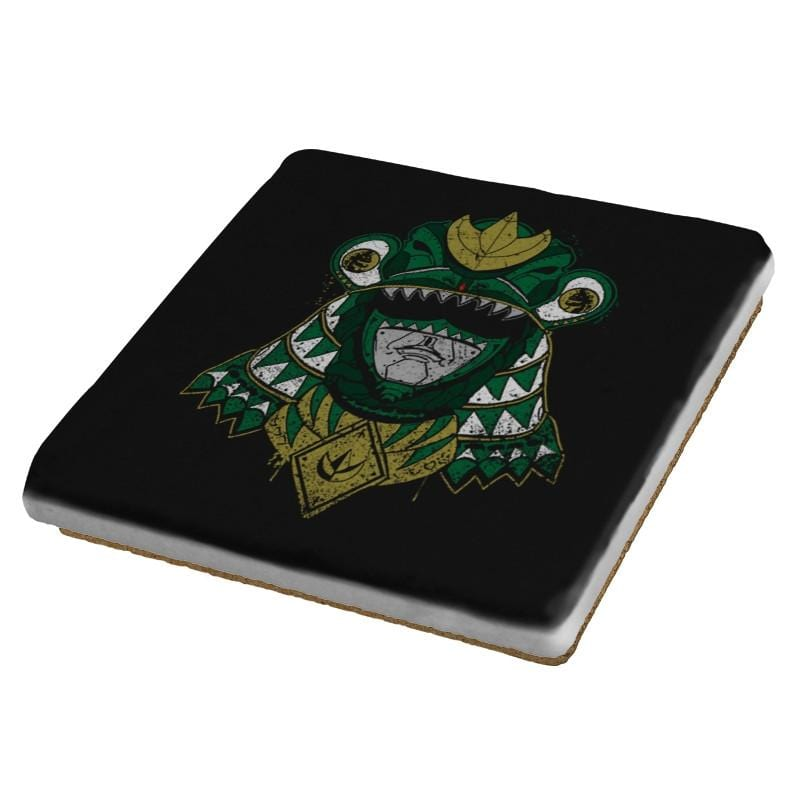 Green Shogun Ranger - Coasters - Coasters - RIPT Apparel