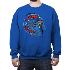 Magic Bluebox - Crew Neck Sweatshirt - Crew Neck Sweatshirt - RIPT Apparel