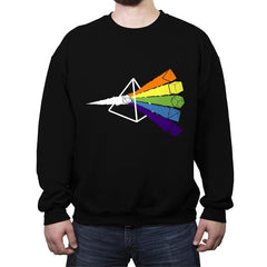 Dark Side o' The Dice - Crew Neck Sweatshirt - Crew Neck Sweatshirt - RIPT Apparel