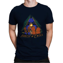 Forest And Chill - Mens Premium - T-Shirts - RIPT Apparel