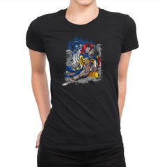 Death of Logan Exclusive - Womens Premium - T-Shirts - RIPT Apparel