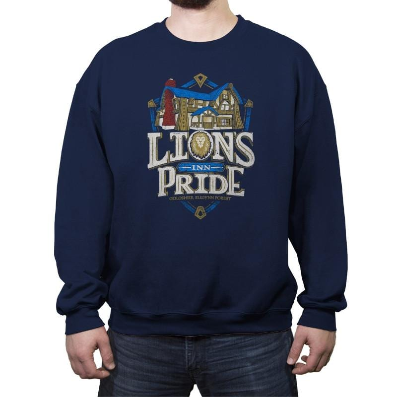 Lion's Pride Inn - Crew Neck Sweatshirt - Crew Neck Sweatshirt - RIPT Apparel