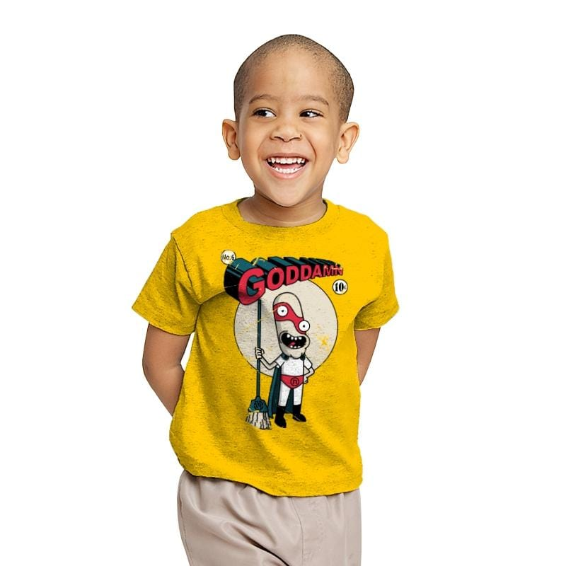 Real Superhero  - Youth - T-Shirts - RIPT Apparel