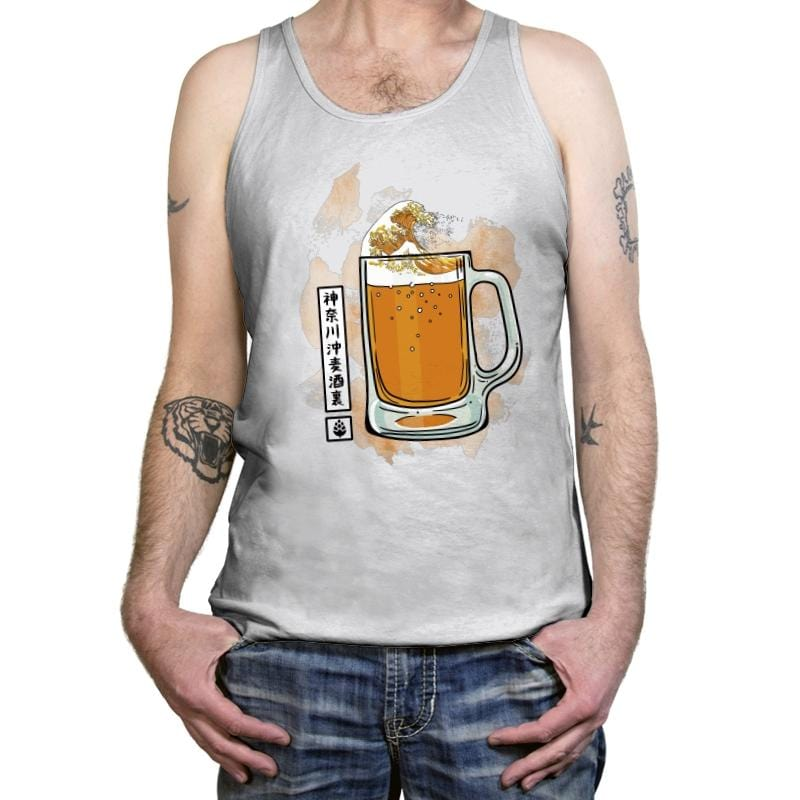 The great beer off Kanagawa - Tanktop - Tanktop - RIPT Apparel