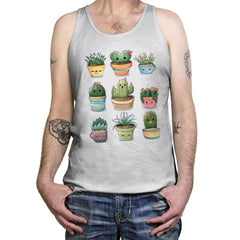 Succulents Kawaii - Tanktop - Tanktop - RIPT Apparel