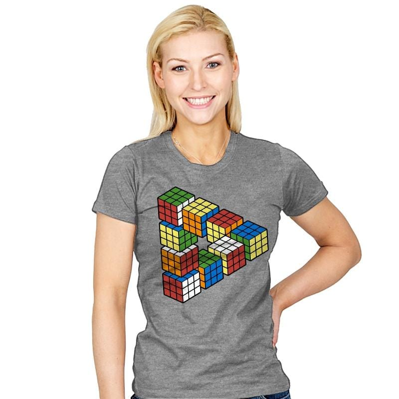Magic Puzzle Cube - Womens - T-Shirts - RIPT Apparel