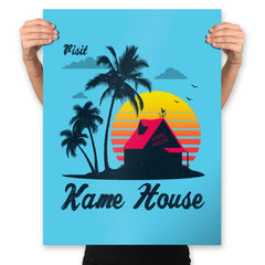Visit Kame-House - Prints - Posters - RIPT Apparel