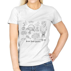 The Quest For The Grail - Womens - T-Shirts - RIPT Apparel