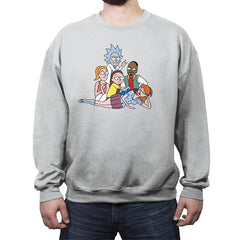 The Tiny Club - Crew Neck Sweatshirt - Crew Neck Sweatshirt - RIPT Apparel
