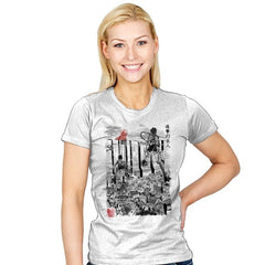 Flying for Humanity - Womens - T-Shirts - RIPT Apparel