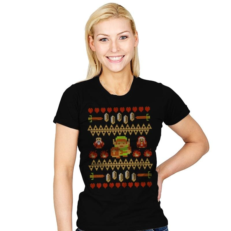 Don't Wear This Alone - Ugly Holiday - Womens - T-Shirts - RIPT Apparel