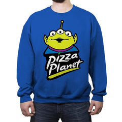 Za Planet - Crew Neck Sweatshirt - Crew Neck Sweatshirt - RIPT Apparel