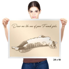 Like One of Your French Girls Exclusive - Prints - Posters - RIPT Apparel