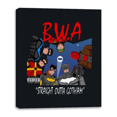 Straight Outta Goth - Canvas Wraps - Canvas Wraps - RIPT Apparel