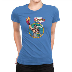 Mola Ram, Planeteer of Doom Exclusive - Womens Premium - T-Shirts - RIPT Apparel