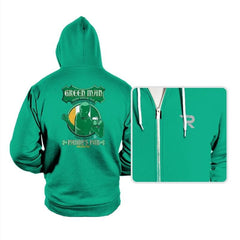 Green Man Irish Green Ale - Hoodies - Hoodies - RIPT Apparel