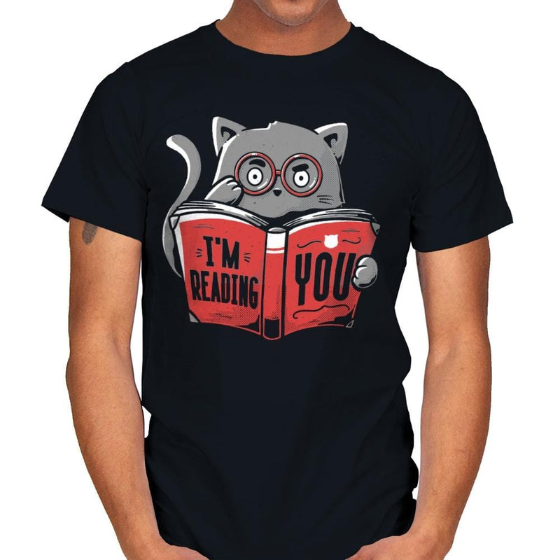 I'm Reading You - Mens - T-Shirts - RIPT Apparel
