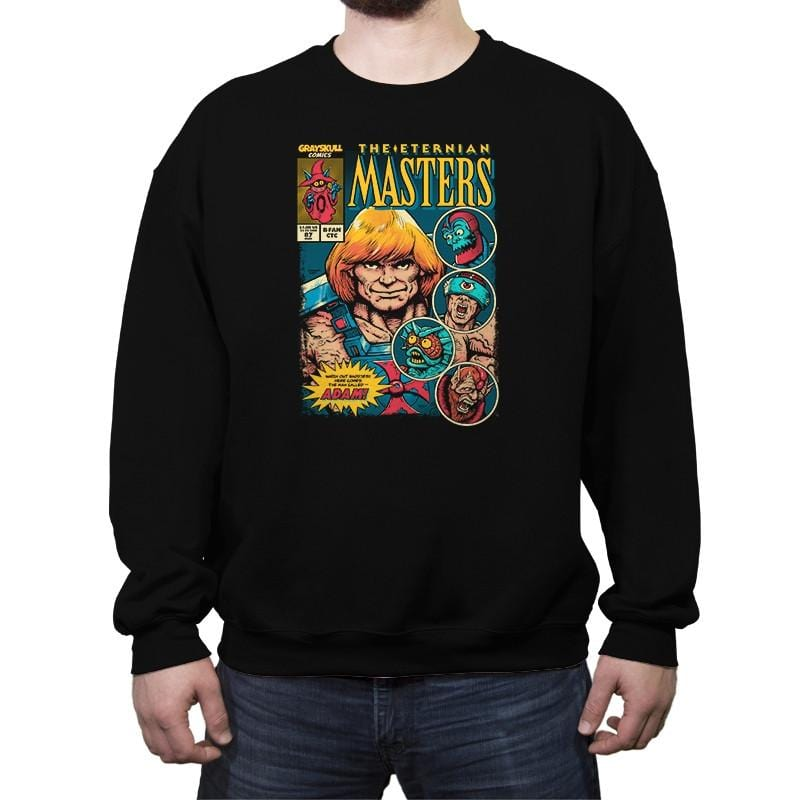 The Eternian Masters - Crew Neck Sweatshirt - Crew Neck Sweatshirt - RIPT Apparel