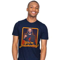 You're Breathtaking! - Anytime - Mens - T-Shirts - RIPT Apparel