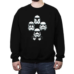 Troops Rhapsody - Crew Neck Sweatshirt - Crew Neck Sweatshirt - RIPT Apparel