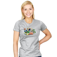 Smash Brawl - Miniature Mayhem - Womens - T-Shirts - RIPT Apparel