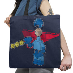 Block Man Exclusive - Tote Bag - Tote Bag - RIPT Apparel