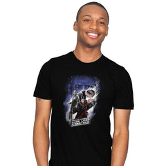Dark Lord Strikes Back - Mens - T-Shirts - RIPT Apparel