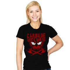 CARNAGE CLUB Exclusive - Womens - T-Shirts - RIPT Apparel