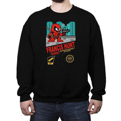 Francis Hunt - Crew Neck Sweatshirt - Crew Neck Sweatshirt - RIPT Apparel