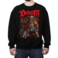 Don't Talk to Demons - Crew Neck Sweatshirt - Crew Neck Sweatshirt - RIPT Apparel