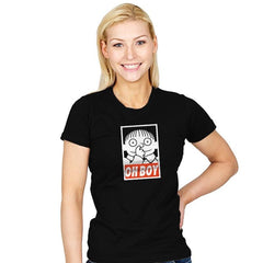 Oh Boy Exclusive - Womens - T-Shirts - RIPT Apparel