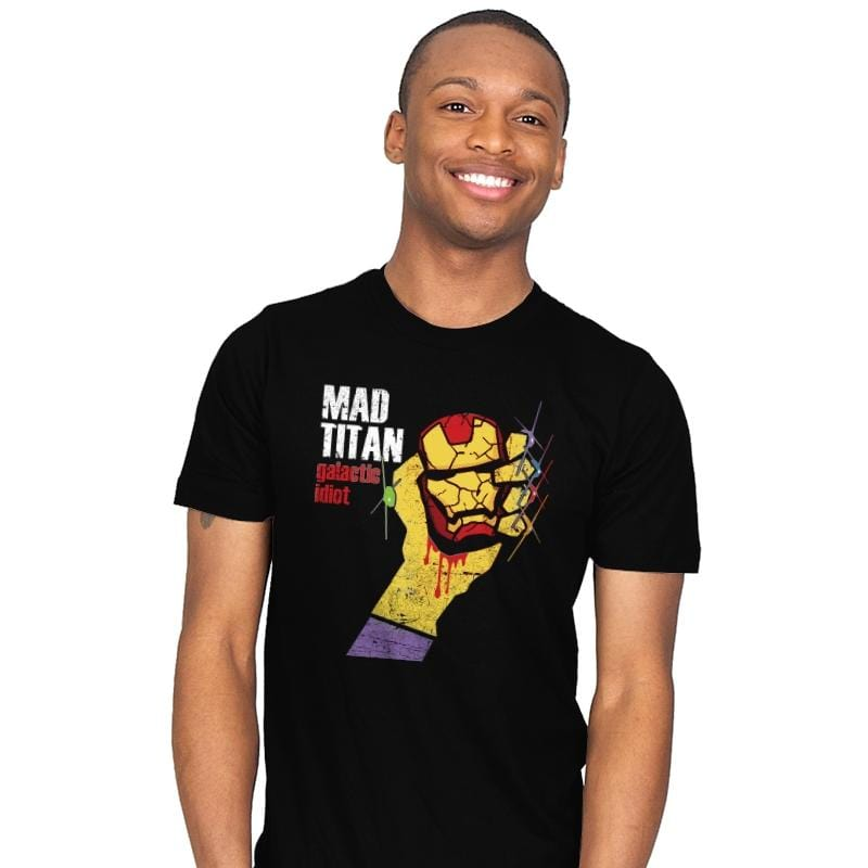 Galactic Idiot - Mens - T-Shirts - RIPT Apparel