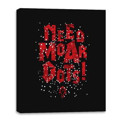 Need Moar Dots - Canvas Wraps - Canvas Wraps - RIPT Apparel