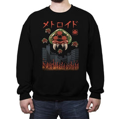Parasitic Kaiju - Crew Neck Sweatshirt - Crew Neck Sweatshirt - RIPT Apparel